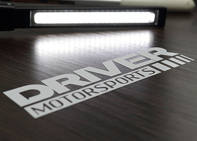 Driver Motorsports Custom Die-Cut Stickers