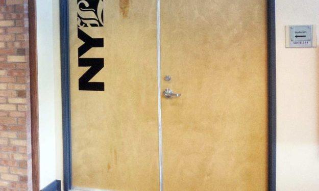 NYL Die-Cut Sticker in Black Vinyl