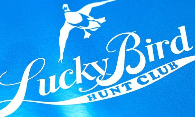 Hunting Club Die Cut Stickers