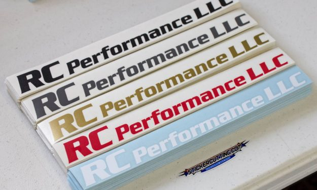 RC Performance Completed Stickers