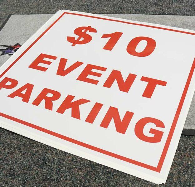 Custom Event Parking Stickers