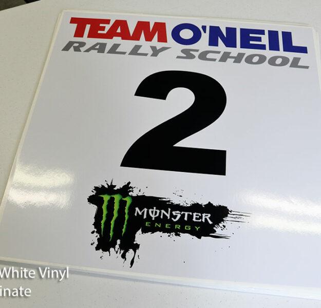 Large Format Car Door Rally Stickers