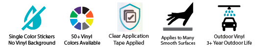 Custom Die Cut Sticker Specifications