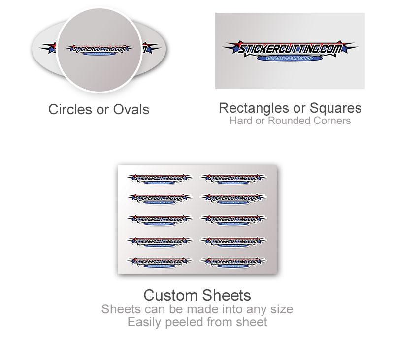 Brushed Aluminum Extra Shape Options