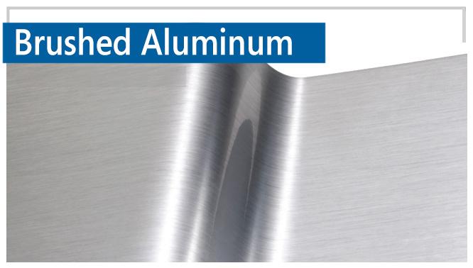 Brushed Aluminum Option 1