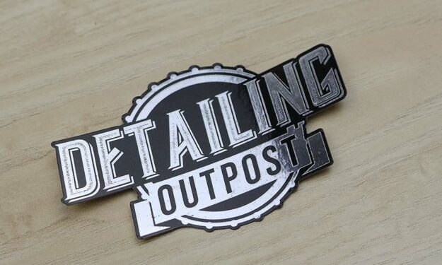 Silver Mirror Detailing Stickers