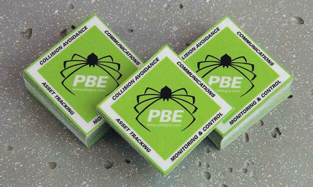 PBE Group Diamond Shape Reflective Stickers