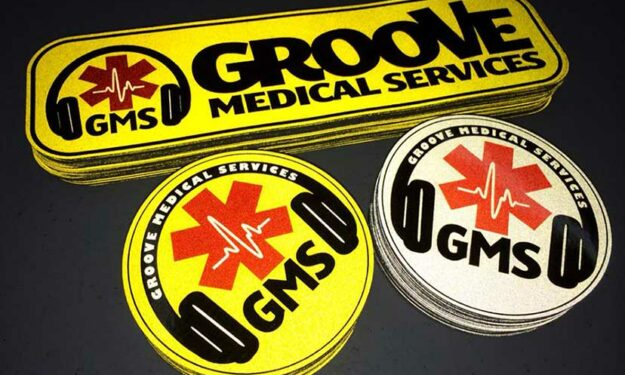 Reflective Medical Stickers