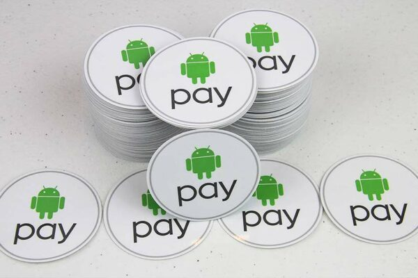 Google Play Contour Cut Stickers